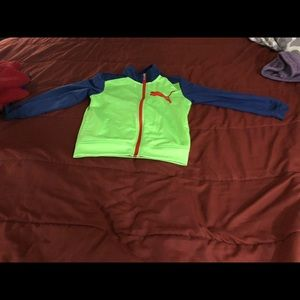 Puma running outfit